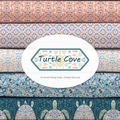 Turtle Cove by Camelot Design Studio