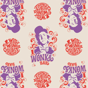 Willy Wonka And The Chocolate Factory Collection - Willy Wonka <br>23230101-02 Cream