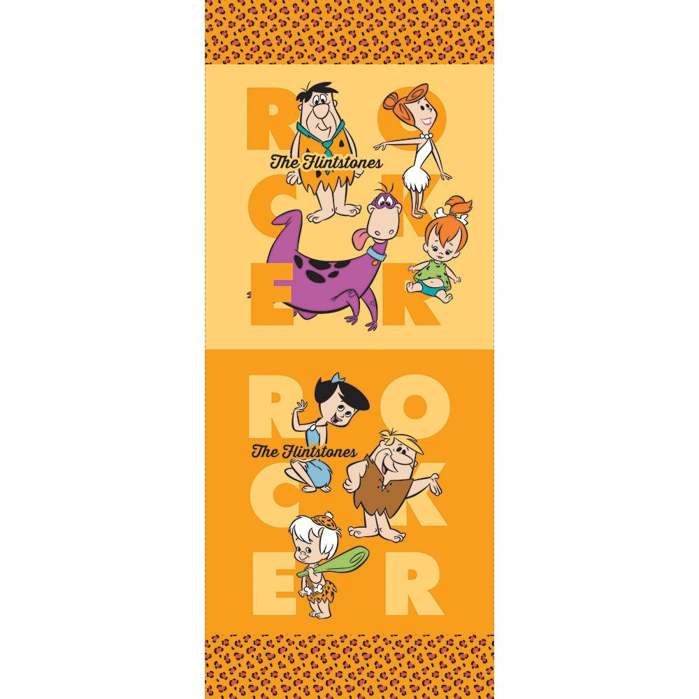 The Flintstones 2 Collection - Rocker Half Panel- Orange