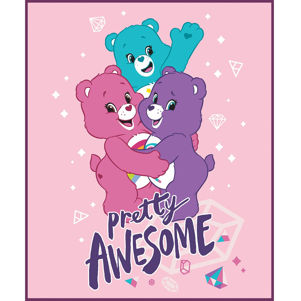 Care Bears Sparkle & Shine Collection - Pretty AWSM Panel - Pink