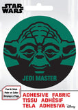 Star Wars Yoda Jedi Master Adhesive Fabric Badge
