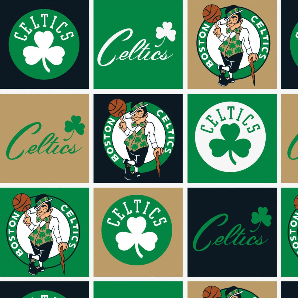 Boston Celtics Block - Printed Fleece by NBA