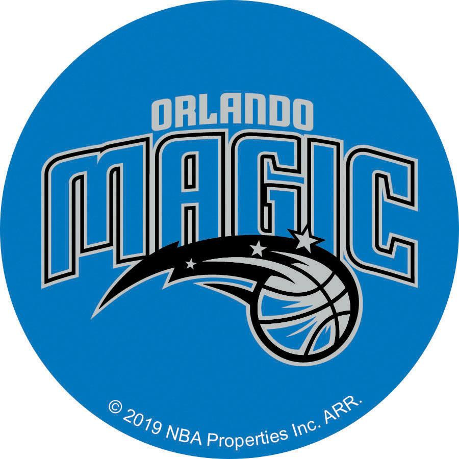 NBA Orlando Magic Logo On Solid Adhesive Fabric Badge
