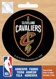 NBA Cleveland Cavaliers Logo On Solid Adhesive Fabric Badge