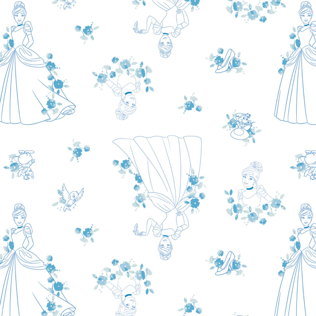 Disney Forever Princess Collection - Cinderella Toile-Blue