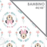 Licensed Swaddle Muslin - Wildflowers Minnie Mouse - Pink