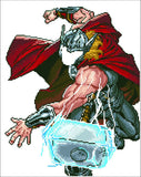 Camelot Dotz Thor Strikes Diamond Painting Kit