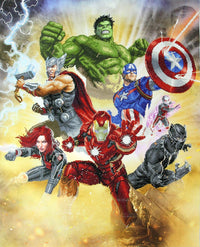 Camelot Dotz Avengers Assemble Diamond Painting Kit