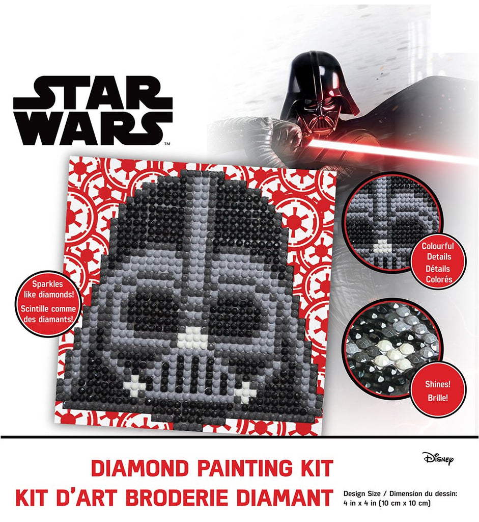 Camelot Dotz Darth Vader Fun Diamond Painting Kit