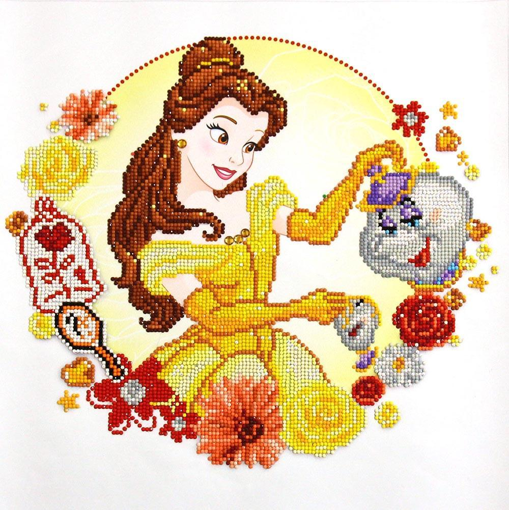 Camelot Dotz Belle's World Diamond Painting Kit
