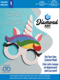 Diamond Art Unicorn Mask