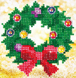 Diamond Dotz Christmas Wreath