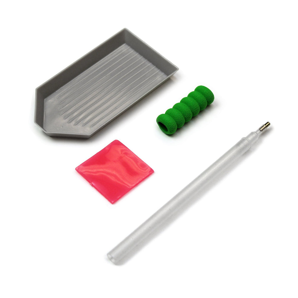 Diamond Dotz Simple Tool Pack (Stylus, Craft Tray and Wax)