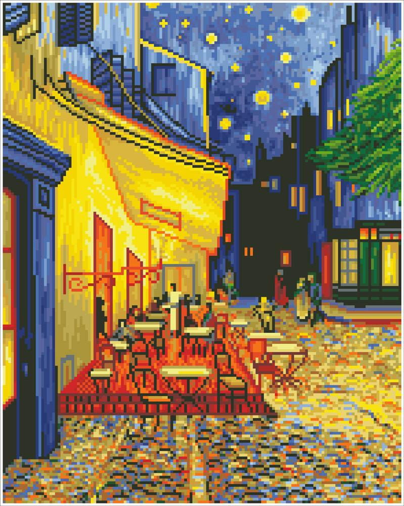 Diamond Dotz Café at Night (Van Gogh)