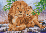 Diamond Dotz Lion Family