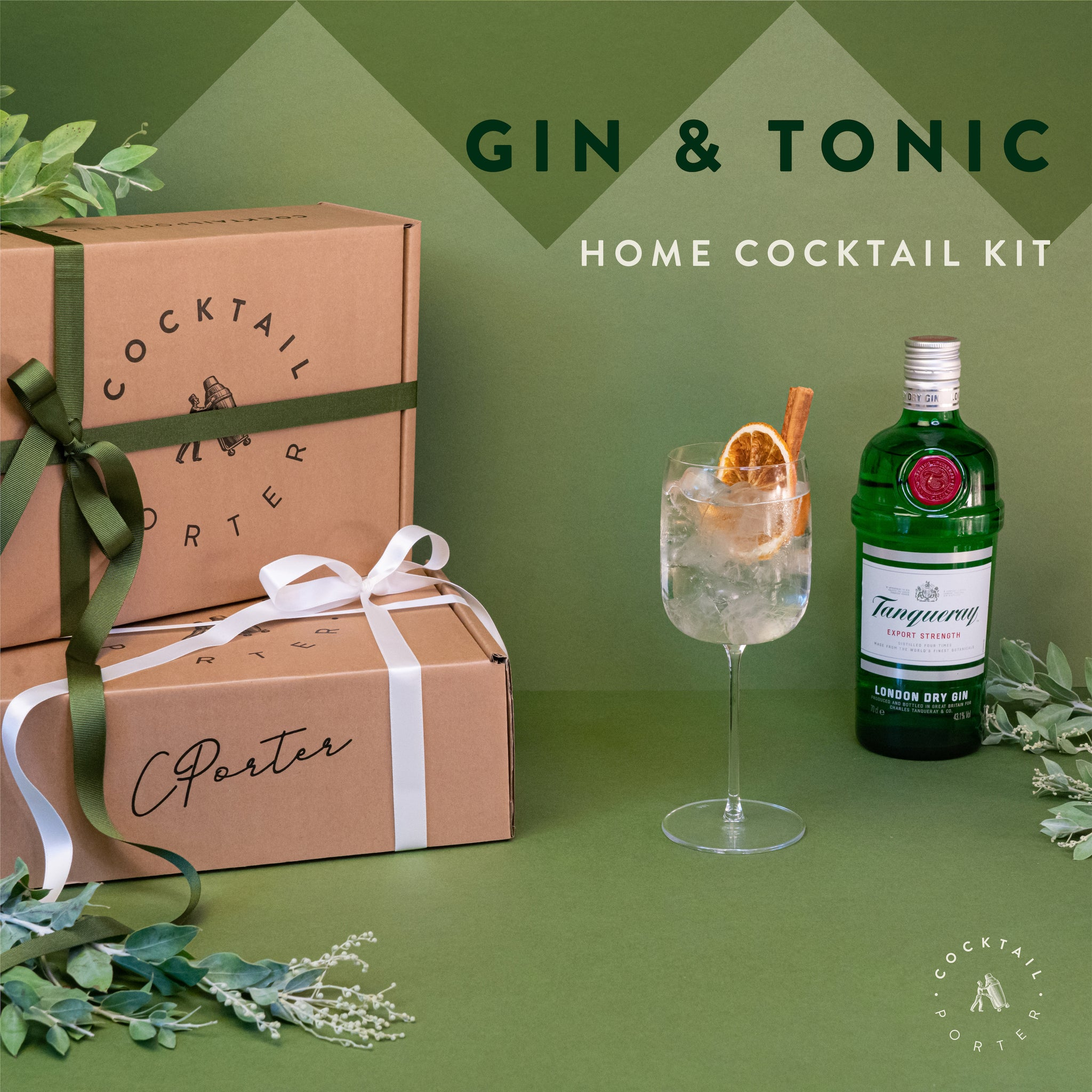 THE GINGLE BELLS & TONIC - Full size Kit