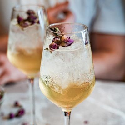 6 Cocktails Elderflower 'Le Fizz' Spritz 'Petite' Kit