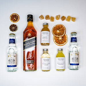 17 Cocktails The Johnnie Walker Highball Collection Full Size Kit