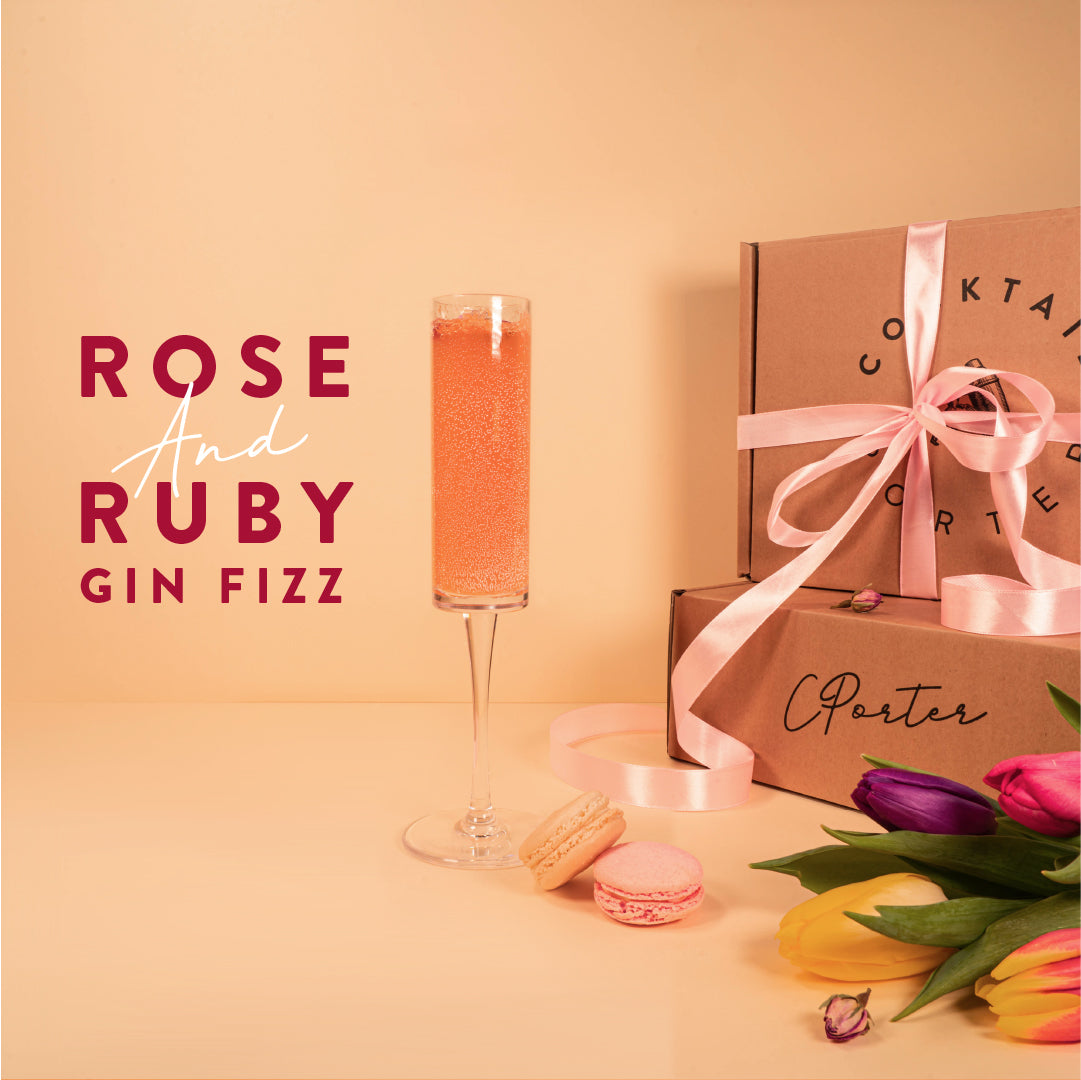 Mother's Day - ROSE & RUBY GIN FIZZ - Cocktail Kit