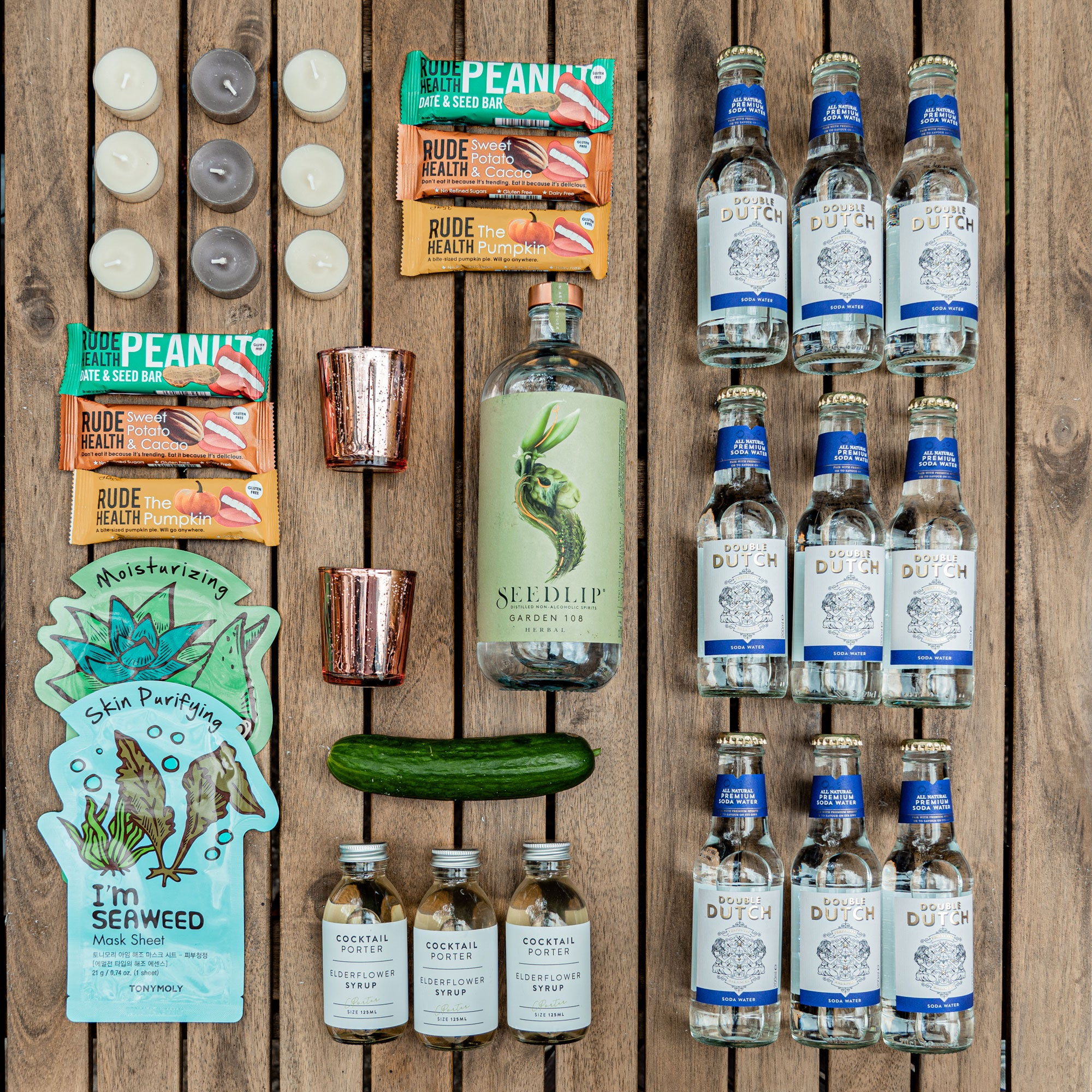 18 Cocktails Seedlip Self Care Spritz Full Size Kit