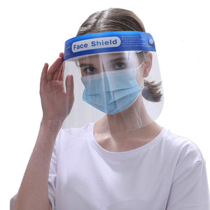 Crystal Clear Anti-Fog Face Shield