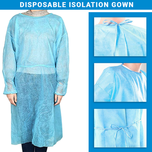 Disposable Isolation Gown Fluid Resistant & Sterile Level 1
