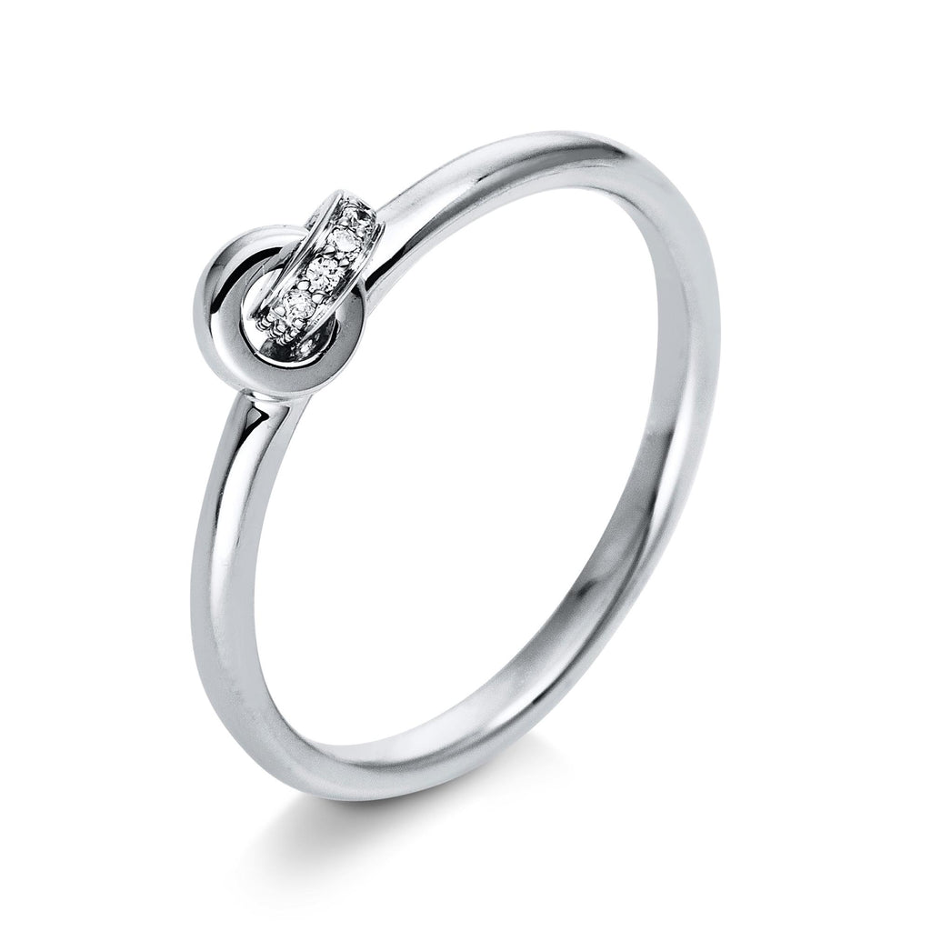 KNOT Ring diamonds - MONANO Schmuckmanufaktur