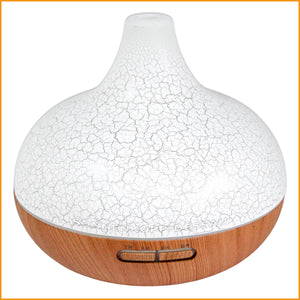 Aroma Diffuser - Luftbefeuchter Duftdiffusor - LED Beleuchtung + Timer