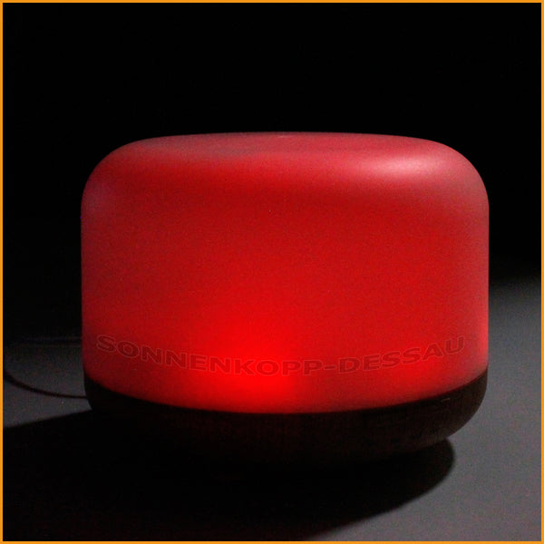 Duft Aroma Diffuser mit LED rot