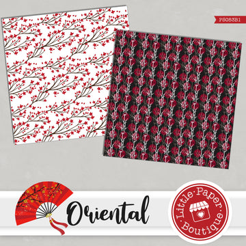 Oriental Digital Paper PS053B1
