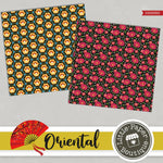Oriental Digital Paper PS053B3