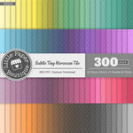 Rainbow Subtle Tiny Moroccan White Digital Paper 3H022