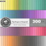 Rainbow Tiny Hexagon Digital Paper 3H062