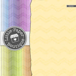 Rainbow Double Patterned Chevron Digital Paper 3H063