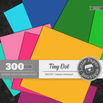 Rainbow Tiny Dot Digital Paper 3H069