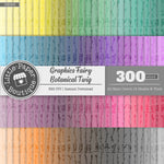 Rainbow Graphics Fairy Botanical Twig Digital Paper 3H093