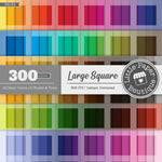 Rainbow Large Square Digital Paper 3H130