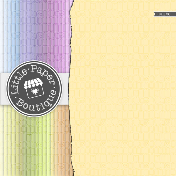 Rainbow Teeny Tags Digital Paper 3H160