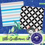 Little Gentleman Digital Paper RCS136
