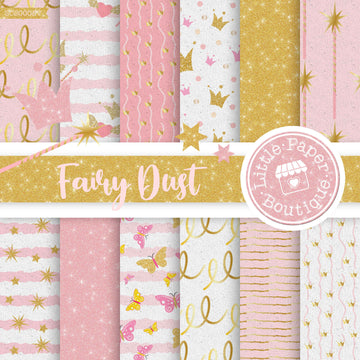 Fairy Dust Seamless Digital Paper SCS0008