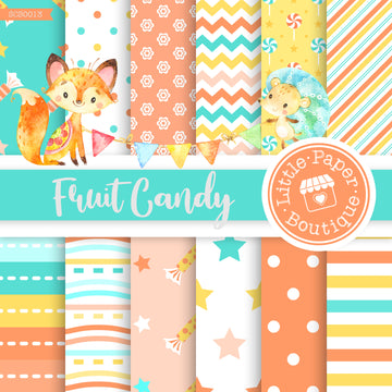 Fruit Candy Seamless Digital Paper SCS0013