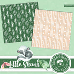 Little Skunk Digital Paper LPB003B12