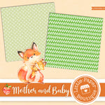 Mother and Baby Digital Paper LPB003B13
