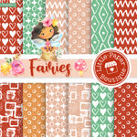 Fairies Digital Paper LPB003B15
