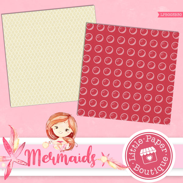 Mermaid Digital Paper LPB003B30