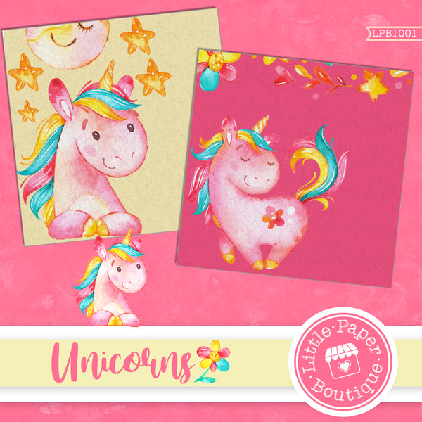 Unicorns Digital Paper LPB1001