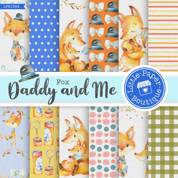 Daddy and Me Digital Paper LPB1004