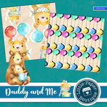 Daddy and Me Digital Paper LPB1015