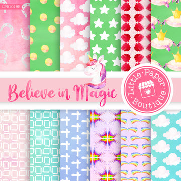 Believe in Magic Digital Paper LPB1016B
