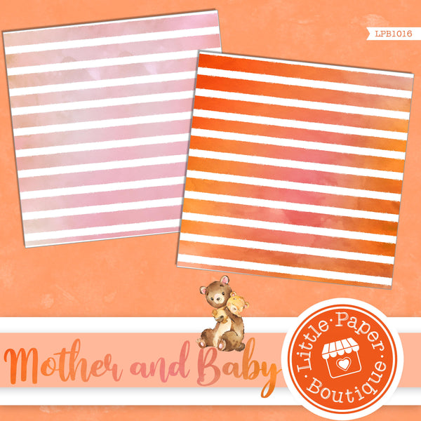 Mother and Baby Digital Paper LPB1018
